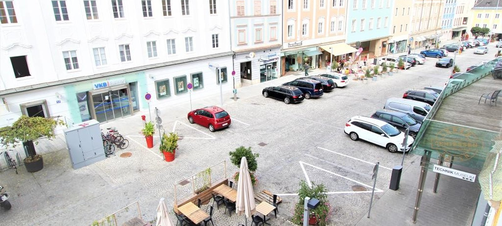 Aussicht Stadtplatz