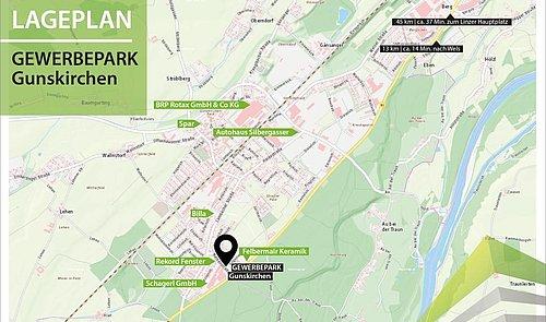 LAGEPLAN_ Gewerbepark Gunskirchen