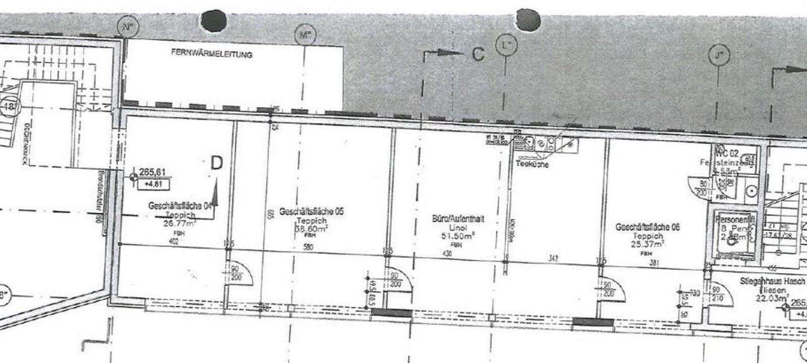 Plan 1. OG NEUBAU