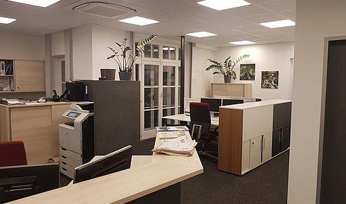 Og Empfang - Großraumbüro