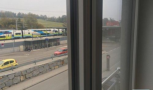 Aussicht Bahnhof